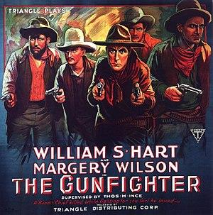 The Gunfighter (1917 film) - Film poster