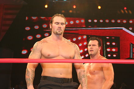(Left to right) Gunner and Murphy on TNA Impact! in July 2010. - Gunner (wrestler)