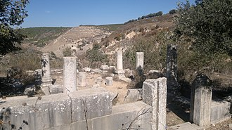Jish - Remains of Gush Halav synagoguge