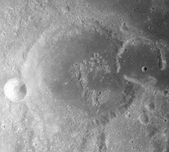 Gutenberg (crater) - Apollo 16 image
