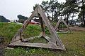 Hérissons tchèques sur le site du Bego, Plouharnel, France.jpg