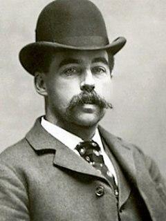 H. H. Holmes American serial killer