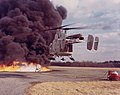 HH-43B Huskie during a firefighting exercise c1960s.jpg