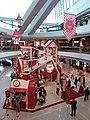 HK 中環 Central IFC Mall 商場 聖誕節 Santa Academy 老人屋 red wood house November 2018 SSG 01.jpg