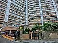 HK 北角半山 North Point Mid-Levels 雲景道 60 Cloud View Road 峰景大廈 Hilltop Mansion entrance Apr-2014.JPG