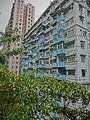 HK 北角 North Point 香花徑 Aroma Walk rain 23 view residential buildings Dec-2013.JPG