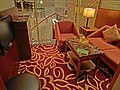 HK 油麻地 Yau Ma Tei 彌敦道 380 Nathan Road 香港逸東酒店 Eaton Hotel Hong Kong Apr-2013 internet room sofa.JPG