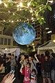 HK 灣仔 Wan Chai 利東街 Lee Tung The Avenue night 月球博物館 big Moon Museum by UK Luke Jerram October 2017 IX1 19.jpg