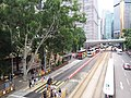 HK CWB 銅鑼灣 Causeway Bay 高士威道 Causeway Road footbridge view Sunday June 2019 SSG 06.jpg
