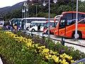 HK Stanley Plaza Carmel Road carpark Coach buses Nov-2012.JPG