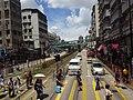 HK Yuen Long 青山公路 Castle Peak Road foobridge n visitors July 2016 DSC.jpg