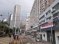 HK tram view Shek Tong Tsui to Sai Ying Pun Des Voeux Road West Sheung Wan Des Voeux Road Central September 2020 SS2 05.jpg