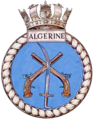 HMS Algerine J213 badge.png