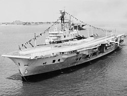 HMS Ark Royal (R09) at Hampton Roads 1957.jpg