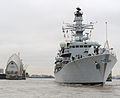 HMS Westminster Visits London MOD 45152386.jpg