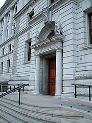 HM Treasury east entrance.jpg