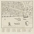 HUA-214009-Plattegrond van het terrein tussen de Oudegracht en de stadsbuitengracht zuidwestzijde te Utrecht met de de bolwerken Sterrenburg en Manenburg en de d.jpg