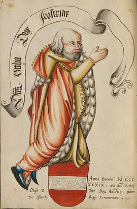 Otto, der Fröhliche, Österreich, Herzog