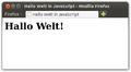 Hallo Welt – JavaScript write.png