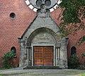 Haltern Baudenkmal 01 Erloeserkirche Hauptportal 2015-08-30 Haltern-IMG 0552.jpg