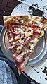 Ham, Pineapple, Tomato pizza slice from Vinnie Van GoGo's Restaurant, Savannah.jpg