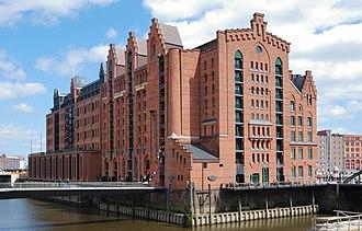 Internationales Maritimes Museum Hamburg - Former warehouse, now the museum (2009)