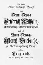 Cover sheet of the Hamburg comparison
