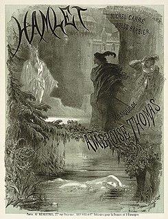 <i>Hamlet</i> (Thomas) opera by Ambroise Thomas