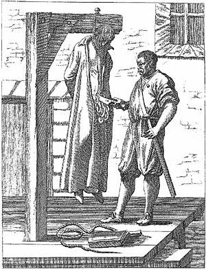 John Ogilvie (saint) - Ogilvie hanged and drawn.