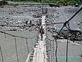 Hanging Bridge on Yarkhoon River - panoramio.jpg