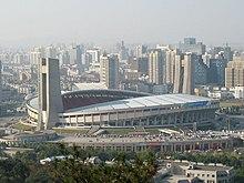 Cao ốc ở Hàng Châu quanh sân vận động Hoàng Long