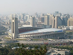 2007 FIFA Women's World Cup - Image: Hangzhou yellow dragon stad