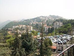 Harissa-Daraoun - Skyline of Harissa, 2010