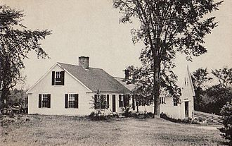 Cape Cod (house) - Cape Cod–style house c. 1920