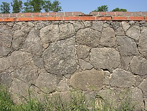 Fieldstone - Fieldstone wall in Wriezen-Haselberg, Germany