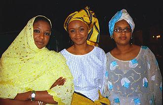 Nigerians - Image: Hausawomen