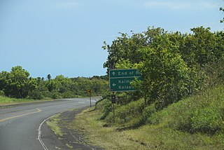 sate highway in Hawaii County, Hawaii, United States