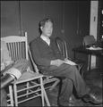 Hayward, California. A farmer of Japanese ancestry appears at Wartime Civil Control Administration . . . - NARA - 536468.tif