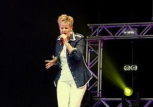 Hazell Dean - Hazell Dean performing at Manchester Pride, 2011.