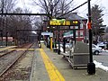 Heath Street on destination sign at Brookline Village, January 2016.JPG