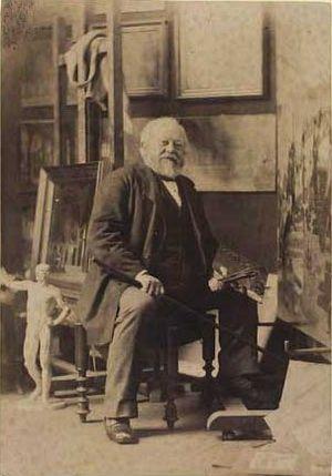 Heinrich Hansen (painter) - Hansen in 1883