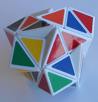 Helicopter Cube - Thoroughly jumbled helicopter cube