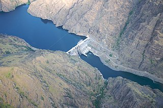 Hells Canyon Dam Dam in Hells Canyon, Adams County, Idaho /Wallowa County, OregonUnited States