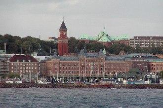 Helsingborg - Image: Helsingborg 300px