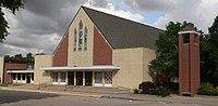 Henderson, Nebraska Bethesda Mennonite from SW 1.JPG