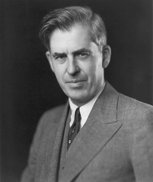 "Fanfare for the Common Man -  Henry A. Wallace whose speech proclaiming the arrival of ""the century of the Common Man"" inspired the title of Copland's fanfare."