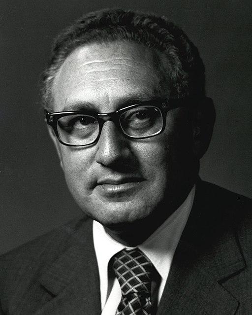 Henry A Kissinger (cropped)