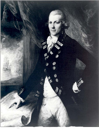 Henry Roberts (Royal Navy officer) - Portrait of Captain Henry Roberts by Thomas Gainsborough.