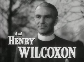 Henry Wilcoxon - as the vicar in The Miniver Story (1950)