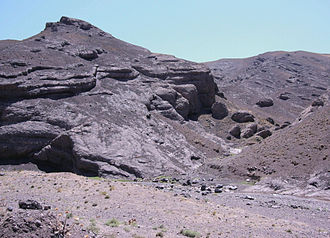 Kushk District - Rocks